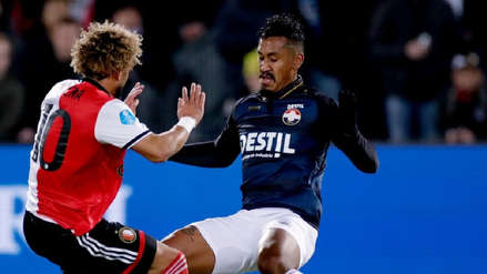 Renato Tapia fue incluido en el once ideal de la fecha 26 en Holanda