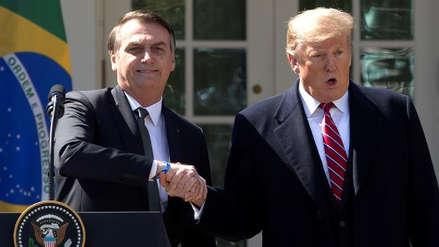 Trump y Bolsonaro forman una alianza contra el socialismo en su primer encuentro