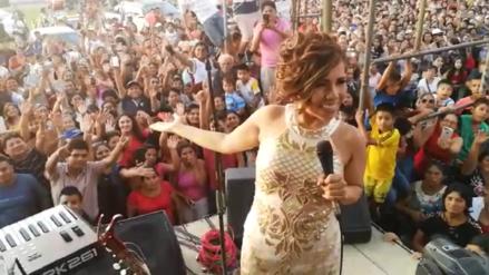 Así fue el emotivo reencuentro de Susan Ochoa con el pueblo de Pátapo [VIDEO]