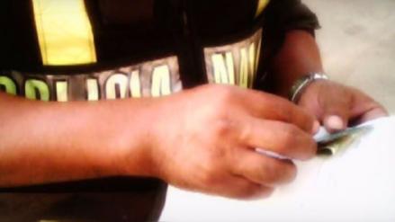 Prisión preventiva a policía acusado de cobrar coima de mil soles