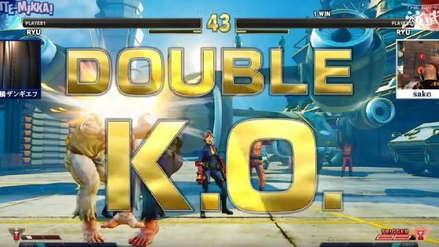 Street Fighter: Revive el espectacular combate que terminó con un doble K.O. pactado