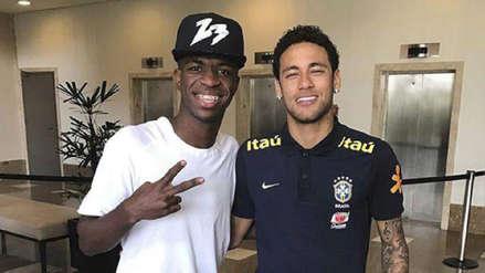 Vinicius Junior habló sobre Neymar: ¿qué dijo de su posible fichaje por el Real Madrid?