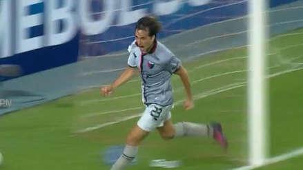 Ya es goleada: Christian Bernardi y el tercer gol de Colón de Santa Fe contra Deportivo Municipal