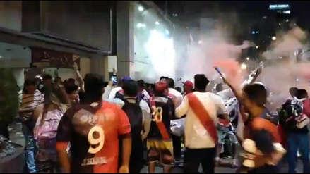 El banderazo que recibió Deportivo Municipal previo a su debut en la Sudamericana