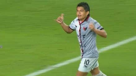 ¡Apareció 'El Pulga'! Luis Rodríguez anotó el segundo gol de Colón ante Deportivo Municipal