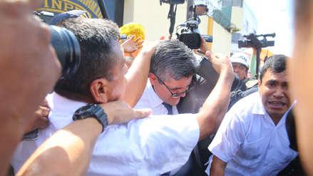 José Domingo Pérez tendrá descanso médico de dos días tras agresión de fujimoristas