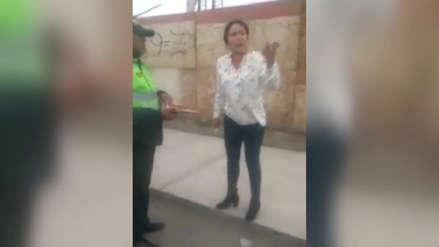 Arequipa | Ingeniera que agredió y discriminó a vigía declaró en reserva ante la fiscalía