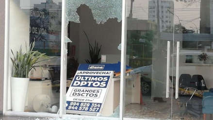 Delincuentes asaltaron instituto en Magdalena y negocio en Pueblo Libre bajo modalidad del combazo