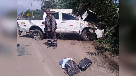 Chiclayo: Dos muertos y varios heridos en camioneta de azucarera