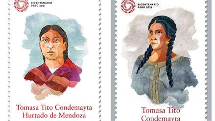 Ministerio de Cultura cometió error en estampilla del Bicentenario dedicada a cacica cusqueña