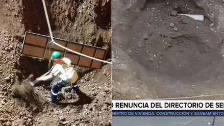 El ministro Carlos Bruce mostró video sobre cómo se originó el aniego en San Juan de Lurigancho