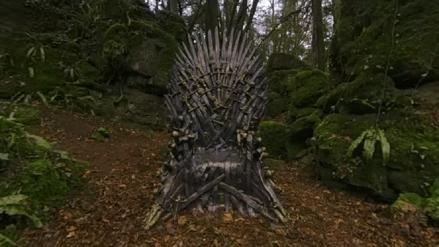 HBO escondió seis tronos de hierro de