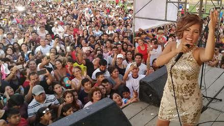 Cariño y gratitud: Las postales del show que ofreció Susan Ochoa en Pátapo