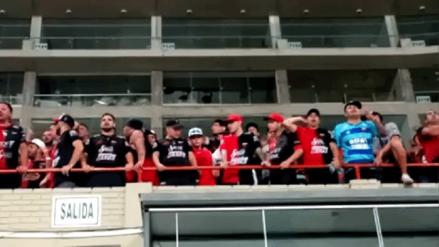 La alegría de los hinchas de Colón que viajaron tres días para acompañar a su equipo en el Nacional de Lima