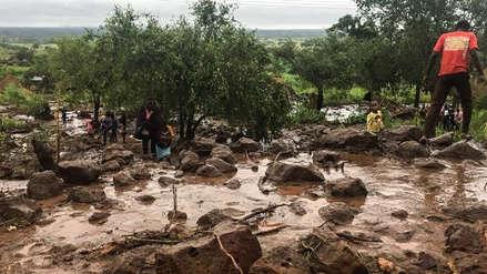 Más de cien muertos dejó el paso del ciclón tropical Idai por Zimbabue