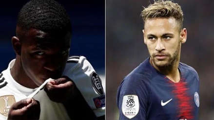 Vinicius Junior opinó quién es el mejor: él o Neymar