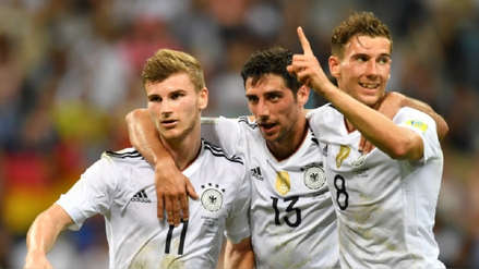 Alemania empató ante Serbia por amistoso internacional FIFA