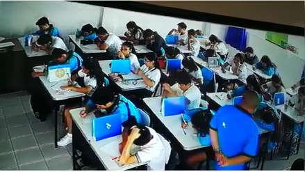 Colegios privados de La Libertad piden al Congreso autorización para revisar mochilas