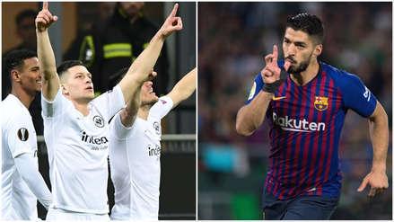 En la mira del Barcelona: el seleccionador serbio comparó al Luka Jovic con Luis Suárez