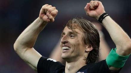 Luka Modric premiado como mejor deportista de 2018 por la prensa