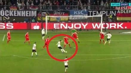 Mira el golazo de Leon Goretzka en el amistoso Alemania vs. Serbia