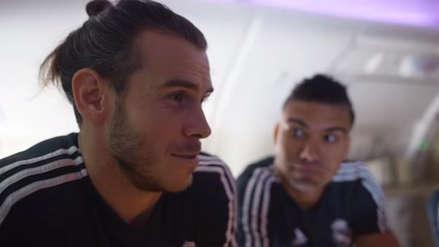 Gareth Bale tuvo un nuevo problema con el español y así reaccionaron sus compañeros de Real Madrid