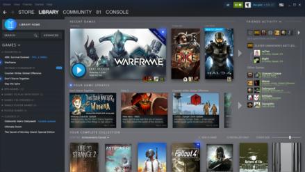 Así se verá la nueva versión de Steam, ¿la tienda digital responde a la compencia?