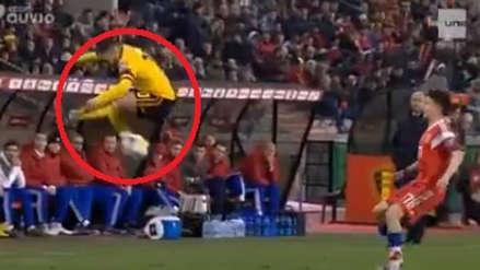 Eden Hazard y su impresionante lujo en el triunfo de Bélgica ante Rusia