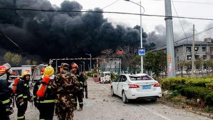 Aumenta a 44 la cifra de muertos por la explosión en planta química en China