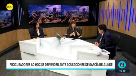 Procuradores del caso Lava Jato responden a acusaciones de Víctor Andrés García Belaunde