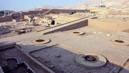 Restos de 'Templo de Millones de Años' salen a la luz tras casi un siglo enterrados por la arena