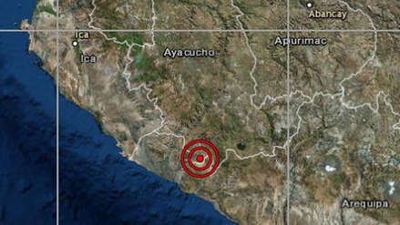 Un sismo de magnitud 4.8 remeció la región Arequipa esta madrugada