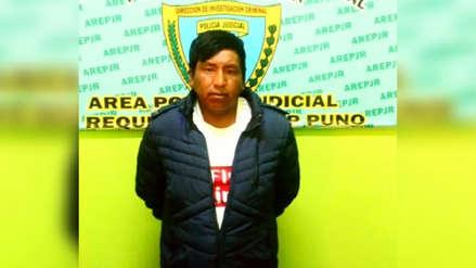 Capturan en Puno a sospechoso de asesinato de madre e hijo ocurrido en Arequipa