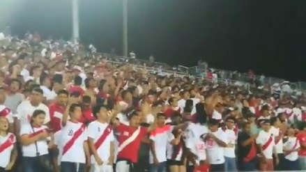 Perú recibió ante Chile el gran aliento de la hinchada en el Sudamericano Sub 17