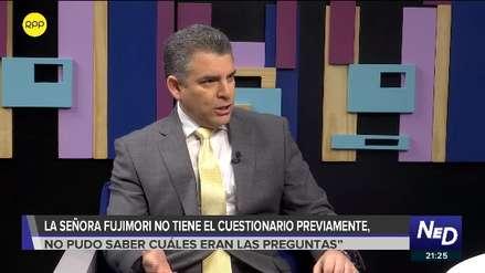 Rafael Vela no descarta que agresión a José Domingo Pérez haya sido organizada por Fuerza Popular