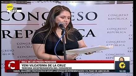 Yeni Vilcatoma solicita detención preliminar de Jorge Barata y Marcelo Odebrecht