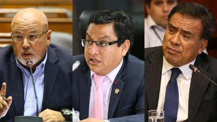 Las reacciones de los congresistas implicados en caso 'Temerarios del crimen' a investigación fiscal