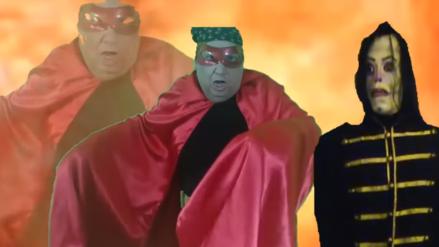 """¿Tongo contra el 'Ayuwoki'? Cantante """"pelea"""" contra el meme al estilo de la WWE"""