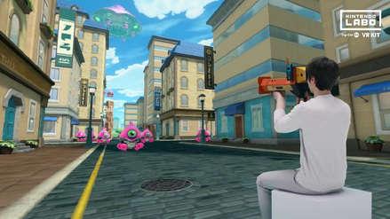 Así funciona Nintendo Labo VR, la experiencia de realidad virtual para Switch