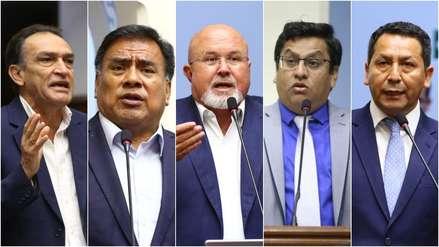 Fiscalía investiga a cinco congresistas involucrados en el caso 'Temerarios del crimen'