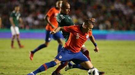 México derrotó 3-1 a Chile en amistoso internacional FIFA