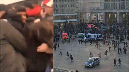 Encuentro entre 'youtubers' rivales termina en una pelea masiva en Berlín