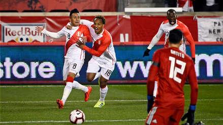 Christian Cueva tras su gol ante Paraguay: