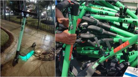 Municipalidad de Miraflores incauta más de 100 scooters por obstaculizar el libre tránsito