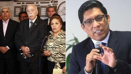 Fuerza Popular anuncia que no presentará moción de censura contra el ministro de Justicia