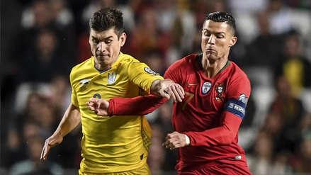 Con Cristiano Ronaldo, Portugal empató 0-0 ante Ucrania por la Eurocopa  2020