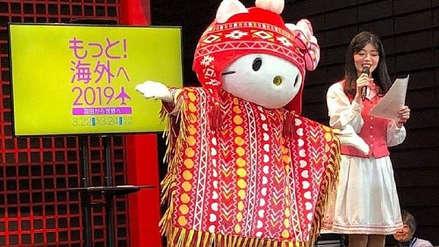 Con chullo y poncho, 'Hello Kitty' promociona el turismo a Perú en Japón