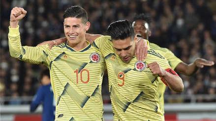 Colombia: Falcao dio el triunfo ante Japón en el debut de Queiroz