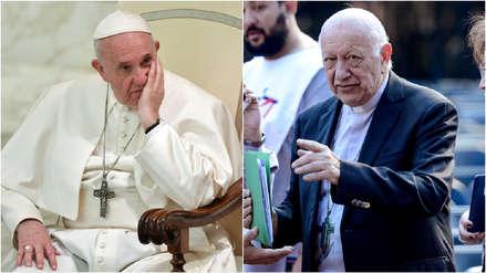 Papa Francisco aceptó la renuncia de cardenal acusado de encubrir los abusos sexuales de sacerdote