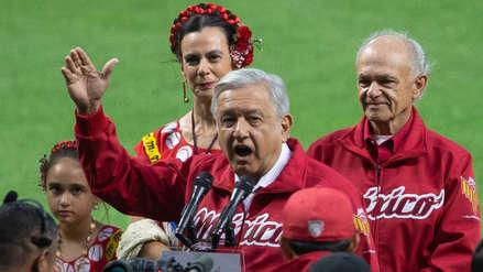 López Obrador es abucheado durante inauguración de estadio de béisbol en México [VIDEO]